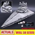 LEPIN 05027 3250 unids Star Wars Emperador Combatientes Nave Modelo Kit de Construcción de Juguete Montaje de Bloques de Ladrillos Compatible con 10030