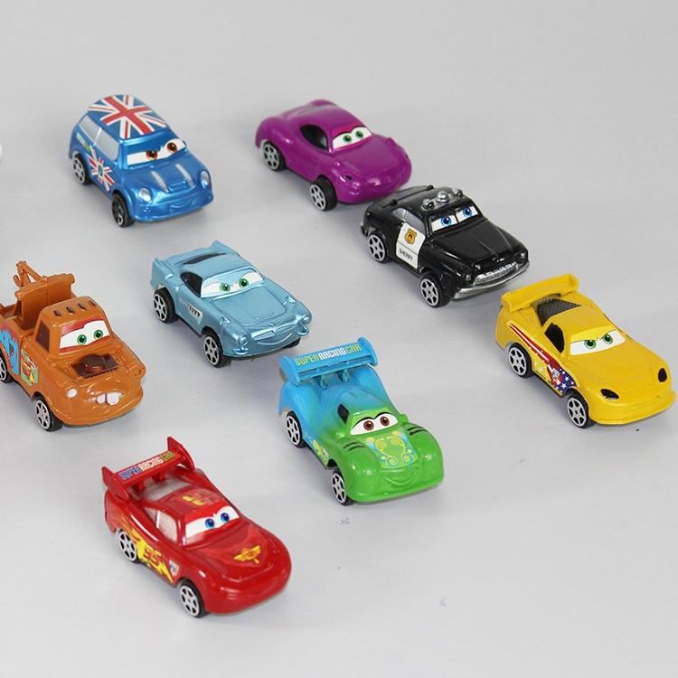 online shop 8pcs cute metal cartoon car models vehicles kids toy car toys for children metal alloy aliexpress mobile