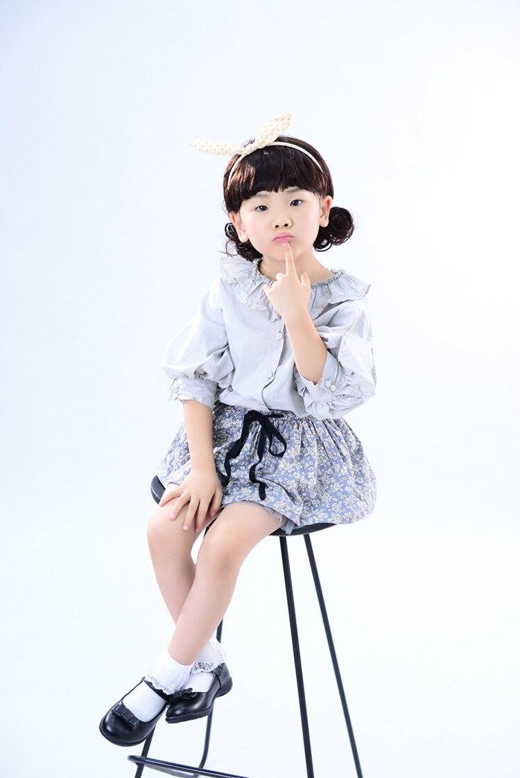 Criança Sapatos de Couro Meninas Princesa Sapatos