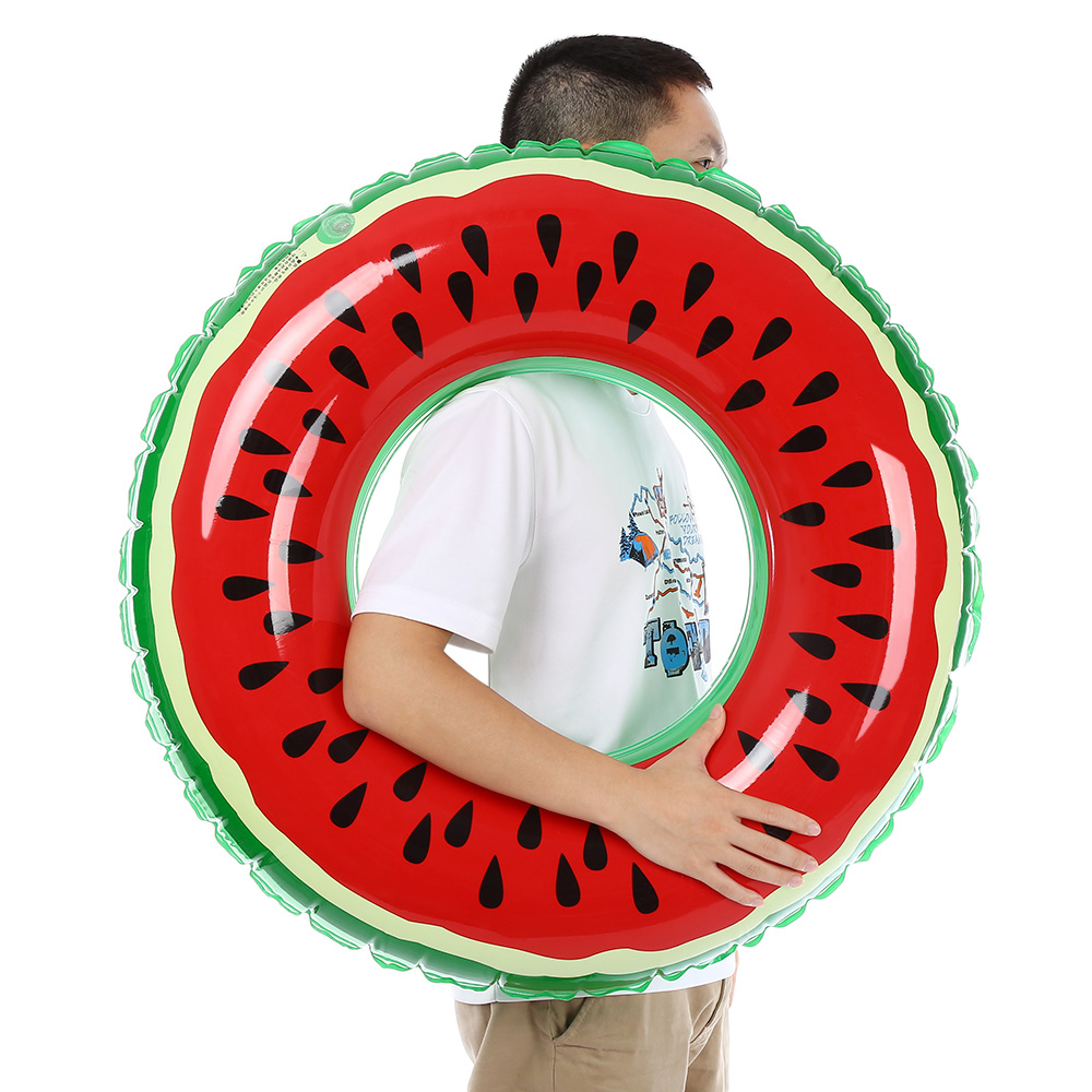 New Style PVC Inflatable Watermelon Pool Float Swimming Ring for Adult Children 60cm 70cm 80cm 90cm 120cm