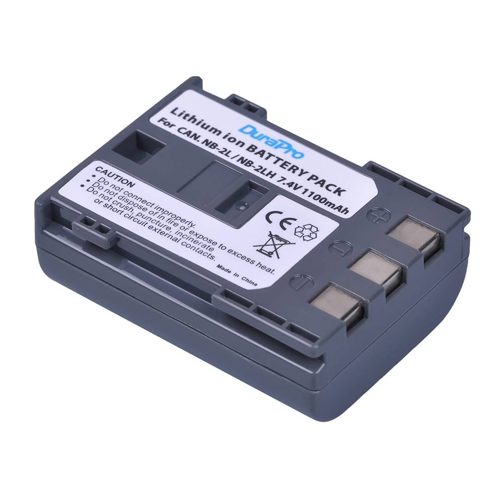 1pcs NB-2L NB2L NB-2LH NB2LH camera Battery pack for Canon EOS 400D S80 S70 S50 S60 350D G7 G9 Kiss N X Rebel XT XTi camera image