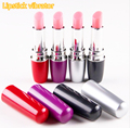 4 different colors Travel privacy lovers Lipstick dildo vibrator,sex toys for woman
