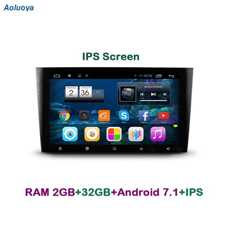 Aoluoya IPS RAM 2 GB + 32 GB Android 7.1 CAR Radio DVD Player - الکترونیک خودرو