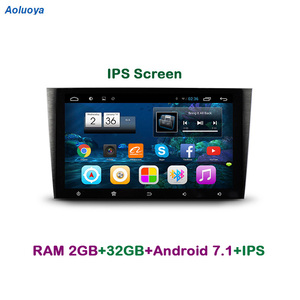 Aoluoya IPS RAM 2GB+32GB Android 7.1 CAR Radio DVD GPS Player For Honda CRV CR-V 2007 2008 2009 2010 2011 audio multimedia WIFI