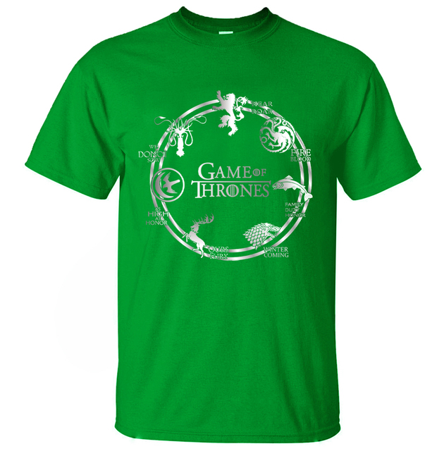 Hot Sale Game of Thrones Summer Cotton T-shirts