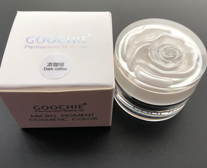NEW GOOCHTF PCD Microblading Pigment Permanent Makeup Eyebrow and Lip Dark COFFEE Tattoo INK Makeup beauty Tool _02