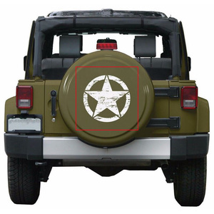Image 1 - 50cm Stars Car Stickers and Decals For Jeep Hood Auto Decal Engine Cover Car Vinyl Car Accessories 3 Colors