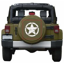50cm étoiles voiture autocollants et décalcomanies pour Jeep capot Auto décalcomanie moteur couverture voiture vinyle voiture accessoires 3 couleurs