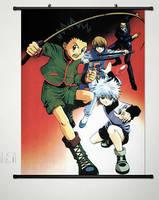 Home Decor Anime Hunter X Hunter Wall Scroll Poster Fabric Painting 061