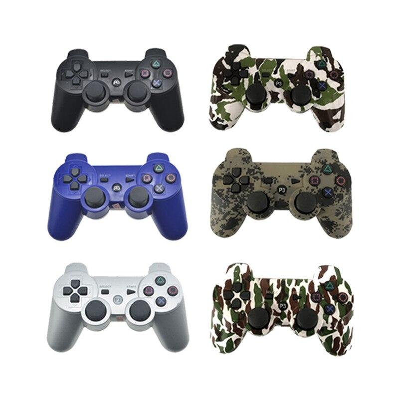 Controlador Bluetooth para SONY PS3 Gamepad para jugar la Estación 3 mando inalámbrico para Sony Playstation 3 PC SIXAXIS Controle