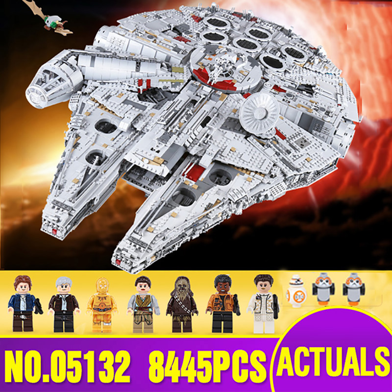 Ship From Spain DHL 05132 Star Series Wars The 75192 Ultimate Collector's Model Destroyer Building Blocks Bricks Kids Toys Gift