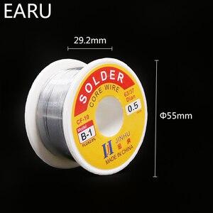 Image 3 - 100g 0.6/0.8/1/1.2/1.5/2 MM 63/37 FLUX 2.0% 45FT Tin Lead wire Melt Rosin Lõi Hàn Hàn Dây Cuốn cho Eletric Hàn Sắt