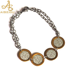 Aibeiou New Fashion Vintage Women's New Design Shining Imitation Diamonds  Styles Bracelet