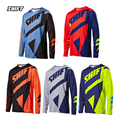 2017 Long Sleeve  MTB Offroad Cycling Jersey Downhill Racing bike/bicycle Clothing DH MX T-shirt Sports wear Shirts S-3XL
