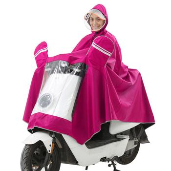 Przeciwdeszczowy płaszcz rowerowy bezpieczeństwo przezroczyste rondo ochrona twarzy projekt sprzęt podróżny tanie i dobre opinie XCVZDVFV Motocykle elektryczne