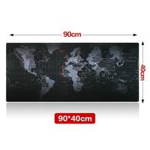 Große Größe 900*400*3 MM Weltkarte Geschwindigkeit Spiel Mauspad Matte Laptop Gaming Mousepad