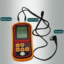 Limited Coating Thickness Gauge Gm100 Ultrasonic Wall Thickness Gauge Meter Tester Steel Pvc Digital Testing