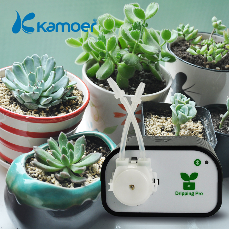 Kamoer automatic plant watering device via Bluetooth connection for flower or succulent DIY Auto Micro Drip Irrigation System