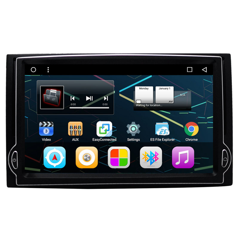 7 Android Car Multimedia font b GPS b font Navigation DVD Radio for Hyundai H1 Grand