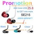 Promoção! SE535 Fone de Ouvido de ALTA FIDELIDADE de Graves Dinâmico cancelamento de ruído do fone de ouvido 3.5 MM Stereo Em fone de Ouvido Fone De Ouvido Com Pacote VS SE215 SE846