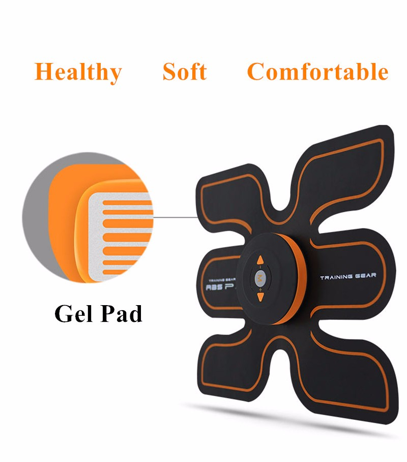 Rechargeable Battery Gym Electronic Body Muscle Arm Waist Abdominal Exerciser Muscle Massaging Machine Viberating Slim Belt (17)_