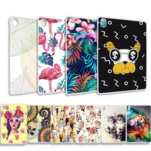 Buy Soft Silicone Fashion Painted Case For Huawei MediaPad M6 10.8 inch Cases TPU Back Tablet Cases Shell Bumper Funda Capa directly from merchant!