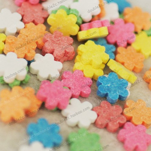 Edible Flowers Cake Decoration,Candy Sprinkles,30g,Colorful Flowers,Edible  Decoration For