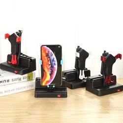 Telefone Shake Movimento Balanço Automático Escova Wiggler com Cabo USB para WeChat Segurança Etapa Movimento Série de Escova Conjunto de Passos