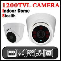 11 11hot Sale Security Dome HD Camera Cmos 1200TVL Invisible Night Vision 30m IR Cut Indoor
