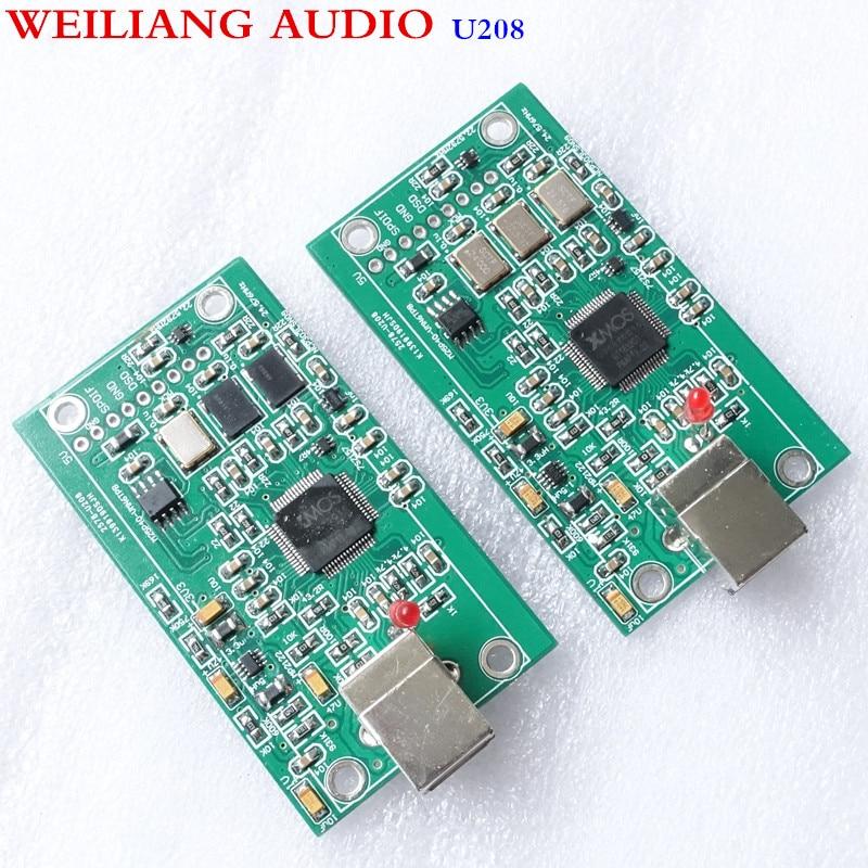 XU208 XMOS scheda di interfaccia USB U8 aggiornamento/DAC