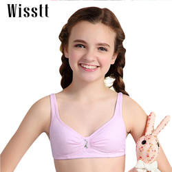 Wisstt Young Girl Students bra full of pure cotton thin underwear vest