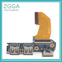 New For HP EliteBook 845 840 G1 740 745 850 855 G1 ZBOOK14 USB Board VGA Interface Board with Cable 6050A2638201 6050A2559210