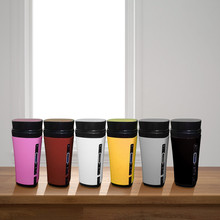Thermos Bottle High Quality Mini Travel Coffee Maker Portable Automatic Mixing Heating USB Coffee Cup L521
