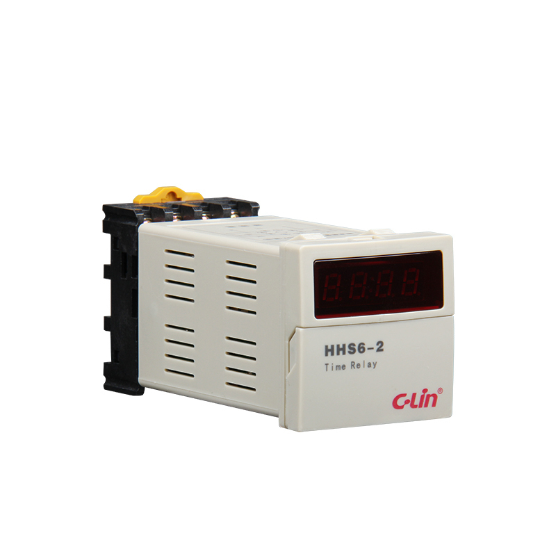 HHS6-2 Number Show Time Relay Two Group Electricity Time Delay DH48S-2Z Improvement Type AC220V 24vdc new programmable dh48s 2z time delay relay counter