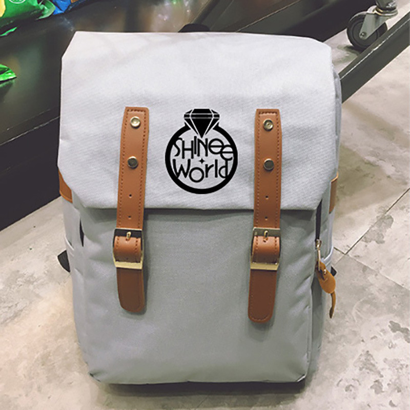 Youpop KPOP SHINee Album Canvas Multicolor Bag Jewelry Admission Package New Fashion Backpack Bags SJB639 рюкзак sprayground pixel shark backpack b188 multicolor