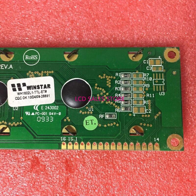 NEW& ORIGINAL WH602L1 WH1602L1-TTL-ET 1602L REV.A E 243002 LCD DISPLAY SCREEN ORIGINAL CCFL