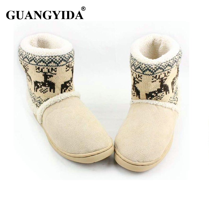 Men Women Home Slippers 2016 New Autumn Winter Warm Cotton-padded Lovers At Home Slippers Indoor Shoes plush slippers ST18 autumn and winter carton lovers slippers indoor cotton padded floor warm slippers plush for women slippers