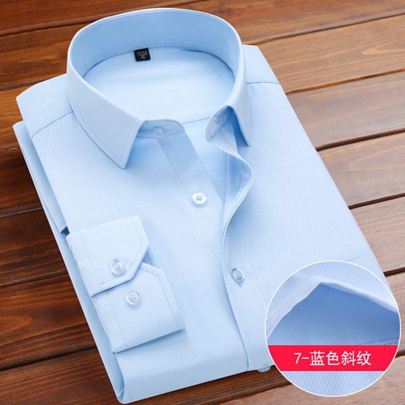 MFERLIER 8XL 9XL Men Dress Shirt Wedding Large Size Long Sleeve Homme 10XL 11XL 12XL Business Red 14XL Cotton Formal Man Shirts