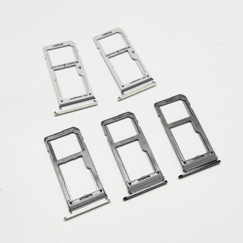 US $1 99 |Single & Dual SIM Card Tray For Samsung Galaxy Note 8 SIM Card  Reader Sim Tray Holder Sim Slot Replacement Parts-in SIM Card Adapters from