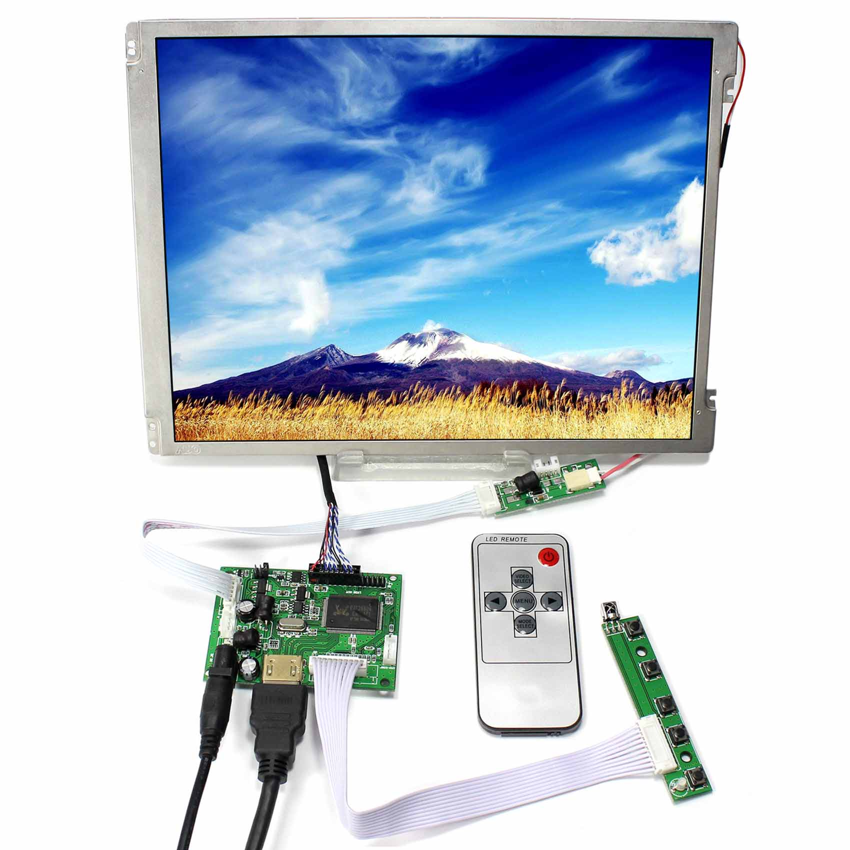 HDMI LCD Controller Board 10.4inch 800x600 LED Backlight Replace G104SN03-V1HDMI LCD Controller Board 10.4inch 800x600 LED Backlight Replace G104SN03-V1