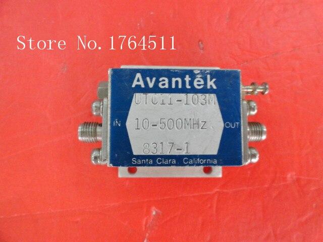 [BELLA] AVANTEK UTC11-103M 10-500MHz SMA Supply Amplifier