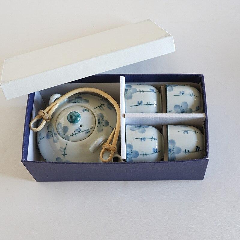 Céramique exquise théière en céramique bouilloires thé tasse porcelaine chinois Kung Fu thé ensemble Drinkware thé cérémonie ensemble - 3