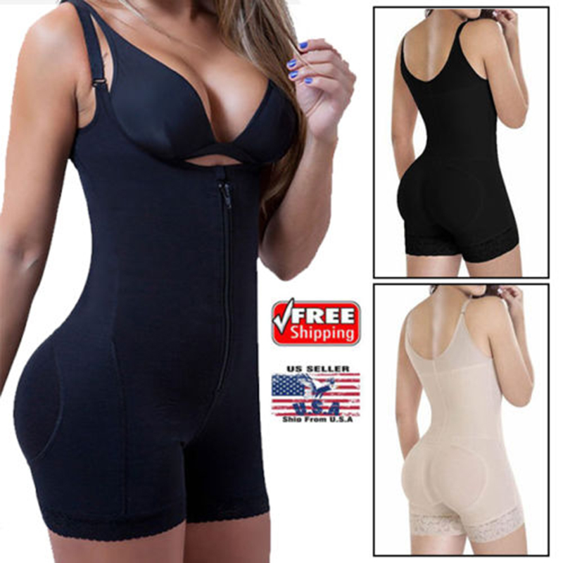 Fräulein Moly Latex Full Body shaper Modellierung Shapewear Taille Cincher Unterbrust Body Overall Hosen Zipper Abnehmen Korsett