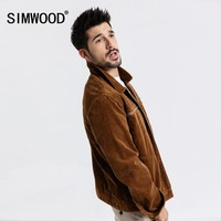 SIMWOOD New 2019 Jacket Men Spring Fashion Casual Coats Bomber Jackets Slim Fit Plus Size Outerwear Brand Clothing 180615
