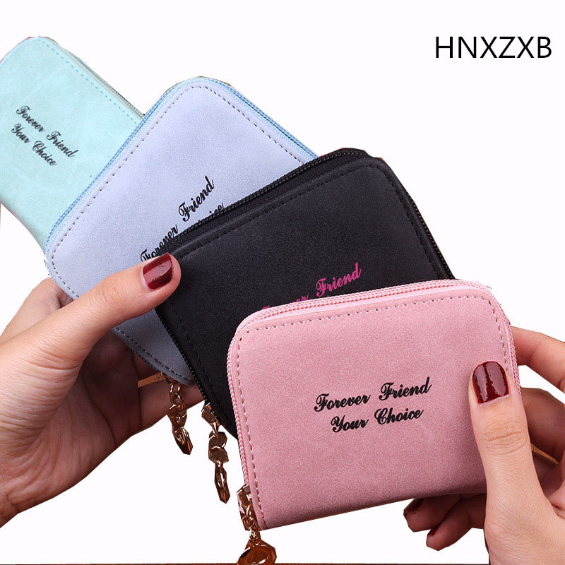 High Quality PU Leather Wallets Women Lovely Letter Priting Zipper & Clasp Coin Pocket Short Purse Clutch Small Wallet Female цена