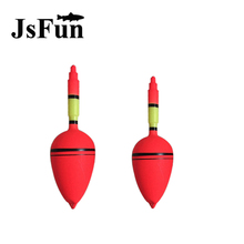 5 pcs/lot  5g/8g Big Belly Plastic Sea Fishing Float with hole cast rod drift Fishing float bobbers FF23