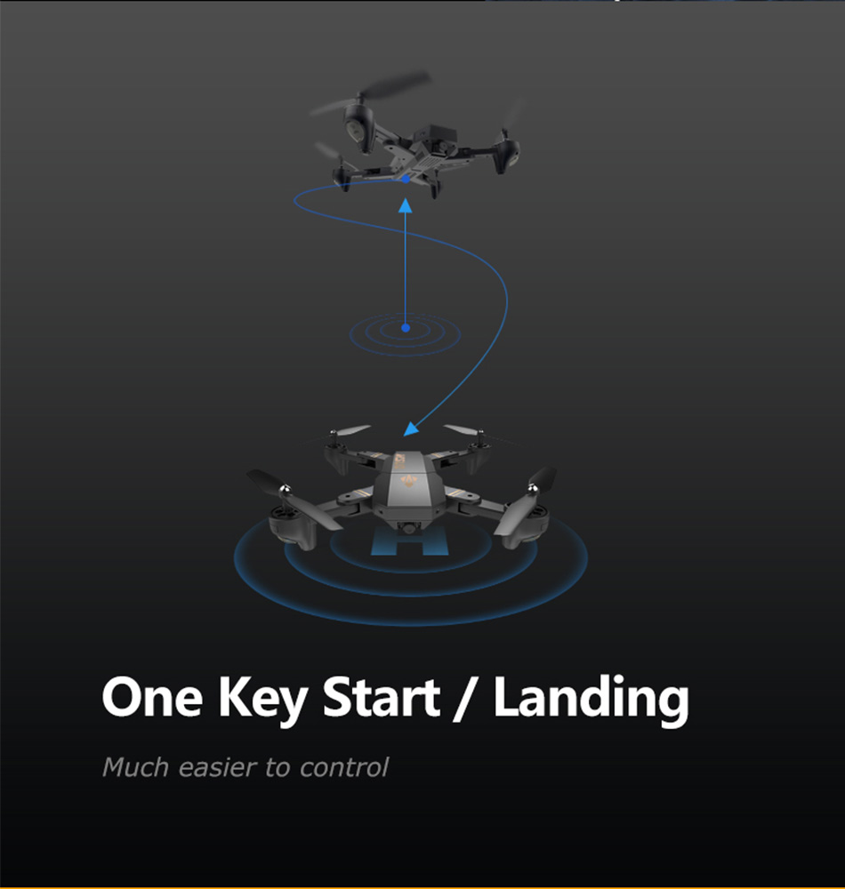 Foldable Racing Drone with FPV Wide Angle HD Camera Altitude Hold RC Quadcopter Helicopter VS VISUO XS809W XS809HW H37 H47 Dron 11