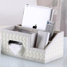 Многофункциональная полиуретановая кожаная коробка для салфеток насосный картонный журнальный столик для гостиной Рабочий стол отделочная коробка для хранения коробка дистанционного управления