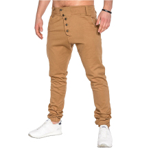 New Fashion Joggers 2019 Autumn Brand Slim Straight Men Casual Pants Man Trousers Khaki Sweatpants 3XL