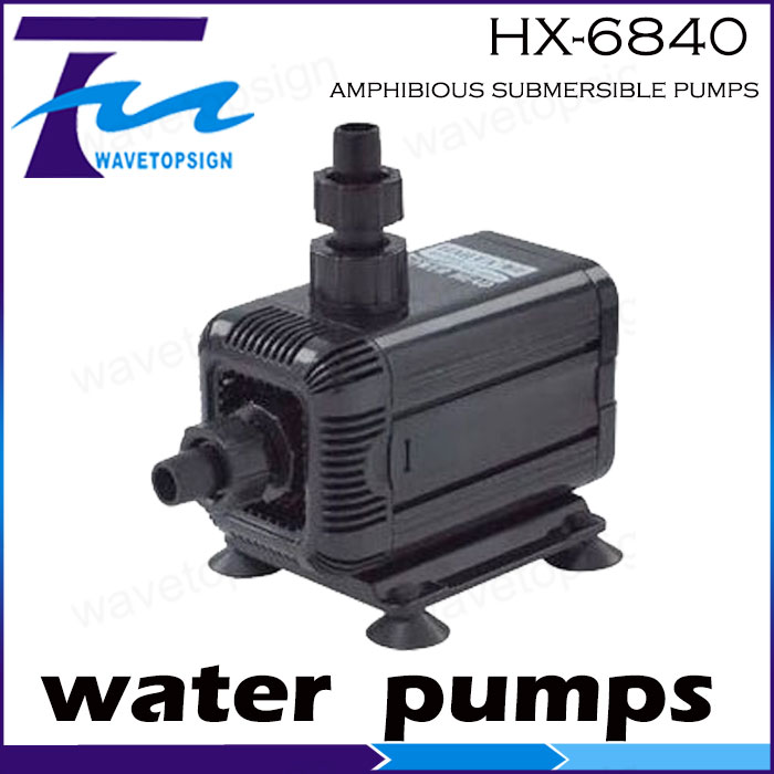 ФОТО amphibious submersible pumpsHX-6840 115w  water pump 4500L/Hour   head 3.5meter